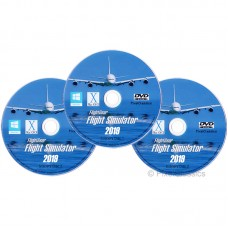FlightGear Flight Simulator 2019 Full World Scenery DVD Pack