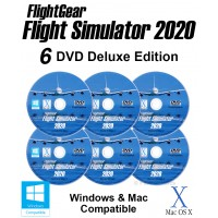 FlightGear Flight Simulator 2020 Deluxe
