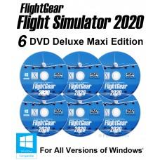 FlightGear Flight Simulator 2020 Deluxe