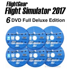 FlightGear Flight Simulator 2017 Deluxe