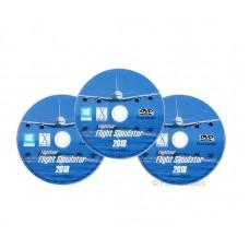 FlightGear Flight Simulator 2018 Full World Scenery DVD Pack